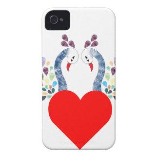 love pecock Case-Mate iPhone 4 cases