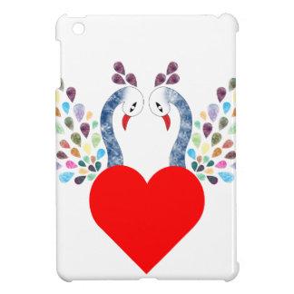 love pecock iPad mini case