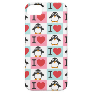 Love Penguin for  iPhone 5 iPhone 5 Cover