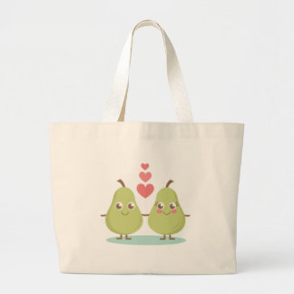 Love, perfect Pair- Wedding gifts, Anniversary Large Tote Bag