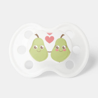 Love, perfect Pair- Wedding gifts, Anniversary Pacifier