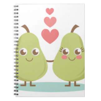 Love, perfect Pair- Wedding gifts, Anniversary Spiral Notebook