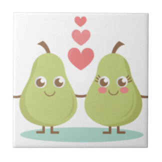 Love, perfect Pair- Wedding gifts, Anniversary Tile