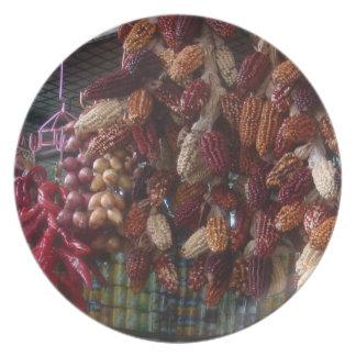 Love Peruvian Food - Chile Cebolla Maiz Party Plates