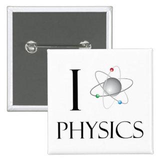 Love physics 2 inch square button