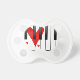 Love Piano Pacifier