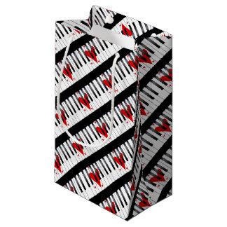 Love Piano Small Gift Bag