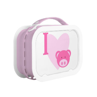 Love Pigs Lunch Box