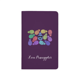 """""""Love Pineapple"""" Colorful Journal"""
