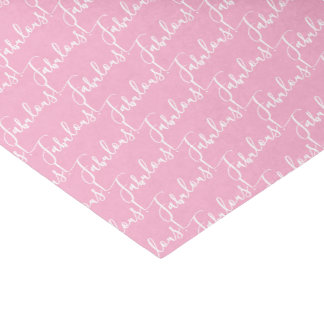 Love Pink Fabulous Celebration Party Tissue Paper