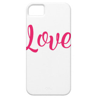 Love Pink iPhone 5 Covers