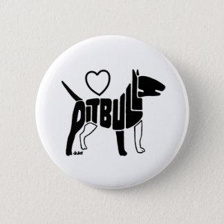 LOVE PITBULLS BUTTON