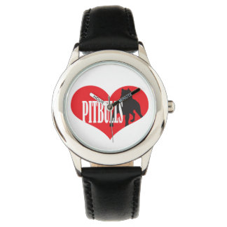 Love Pitbulls Watch