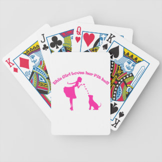 love pitty bicycle playing cards