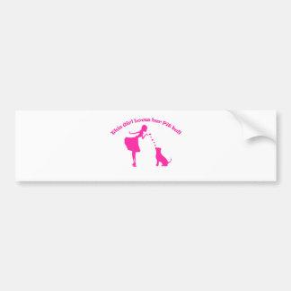 love pitty bumper sticker
