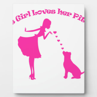 love pitty plaque