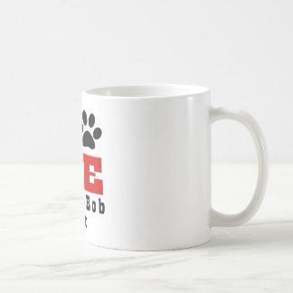 Love Pixie-Bob Cat Designes Coffee Mug
