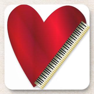 Love Playing Piano Coaster