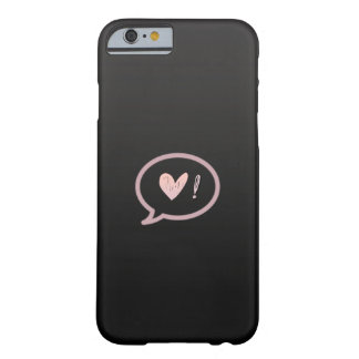Love, Please! Barely There iPhone 6 Case