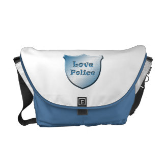 Love Police Courier Bag