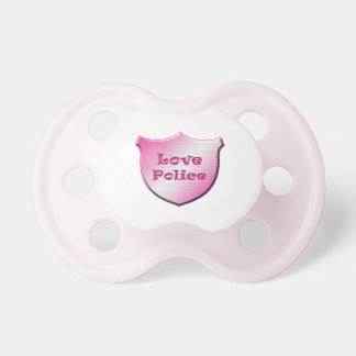 Love Police Pacifier