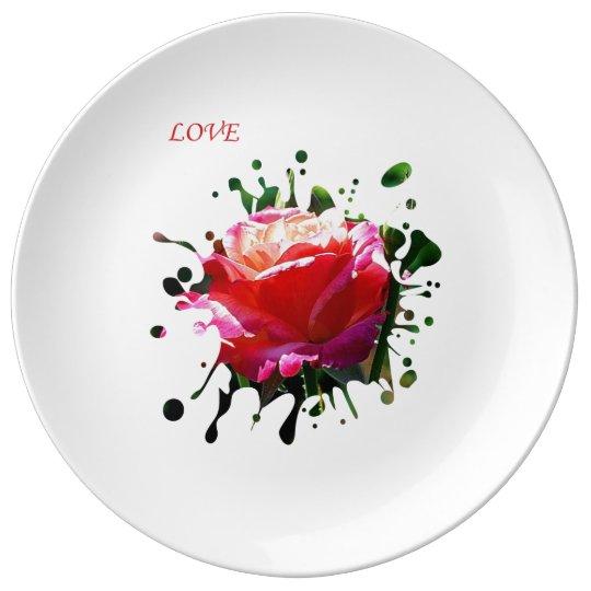 LOVE... PORCELAIN PLATES