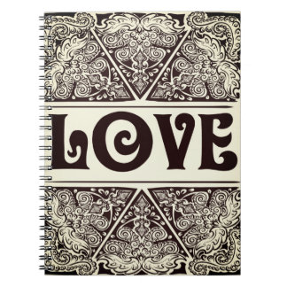 Love - Positive Quote´s Spiral Notebook