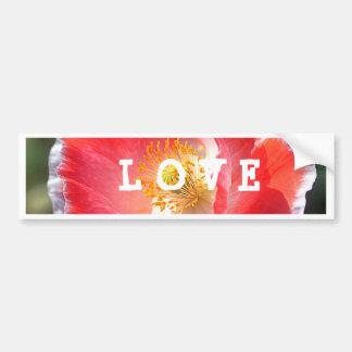Love Post It Notes Bumper Sticker
