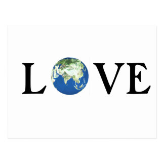 LOVE | Postcard