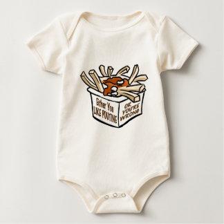 love poutine baby bodysuit