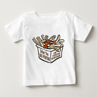 love poutine baby T-Shirt