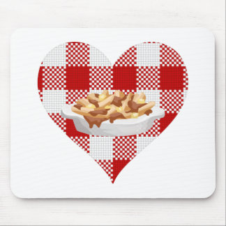 love poutine mouse pad