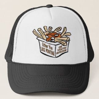 love poutine trucker hat