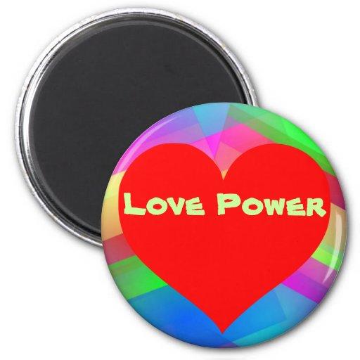 Love Power  magnet