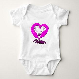 love prawns baby bodysuit