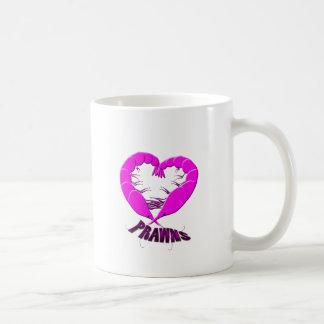 love prawns coffee mug