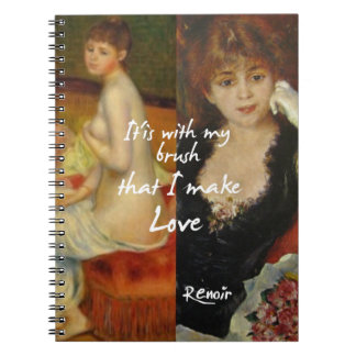 Love principal source in Renoir's masterpieces Notebooks