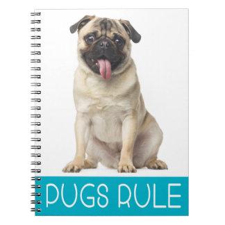Love Pug Puppy Dog Journal Notebook