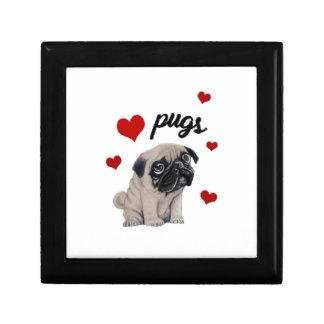 Love pugs gift box