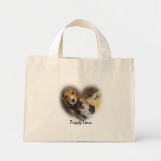 Love, Puppy Love Mini Tote Bag