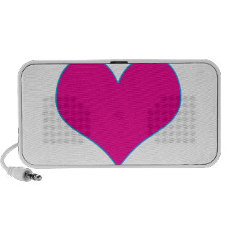 Love Purple Heart TEMPLATE add text image greeting Speaker