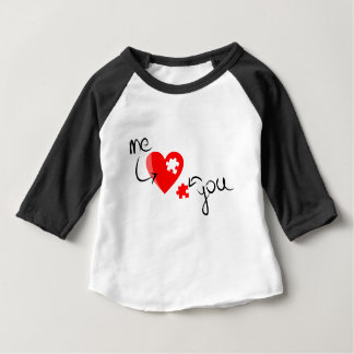 Love puzzle baby T-Shirt