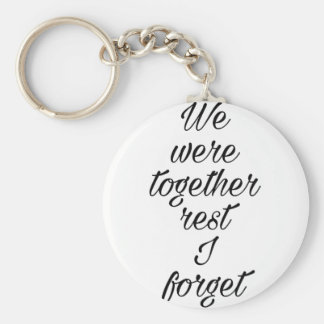 Love quote basic round button keychain