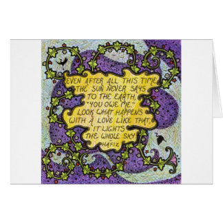 Love Quote Greetings Card
