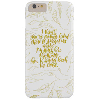 Love Quotes: Trying Hard There To Forget Us Barely There iPhone 6 Plus Case