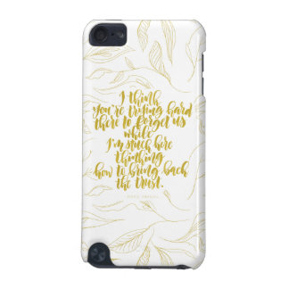 Love Quotes: Trying Hard There To Forget Us iPod Touch 5G Covers