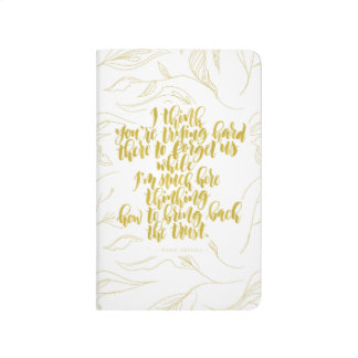 Love Quotes: Trying Hard There To Forget Us Journal