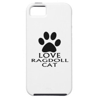 LOVE RAGDOLL CAT DESIGNS iPhone 5 CASES