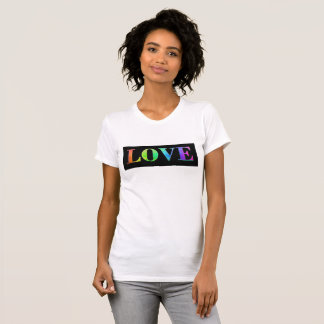 Love Rainbow LGBT Gay Pride Shirt