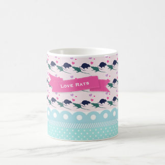 Love Rats Polka Dot Coffee Mug